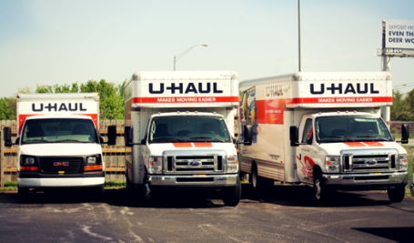 We have a variety of U-Haul rentals to suit your needs